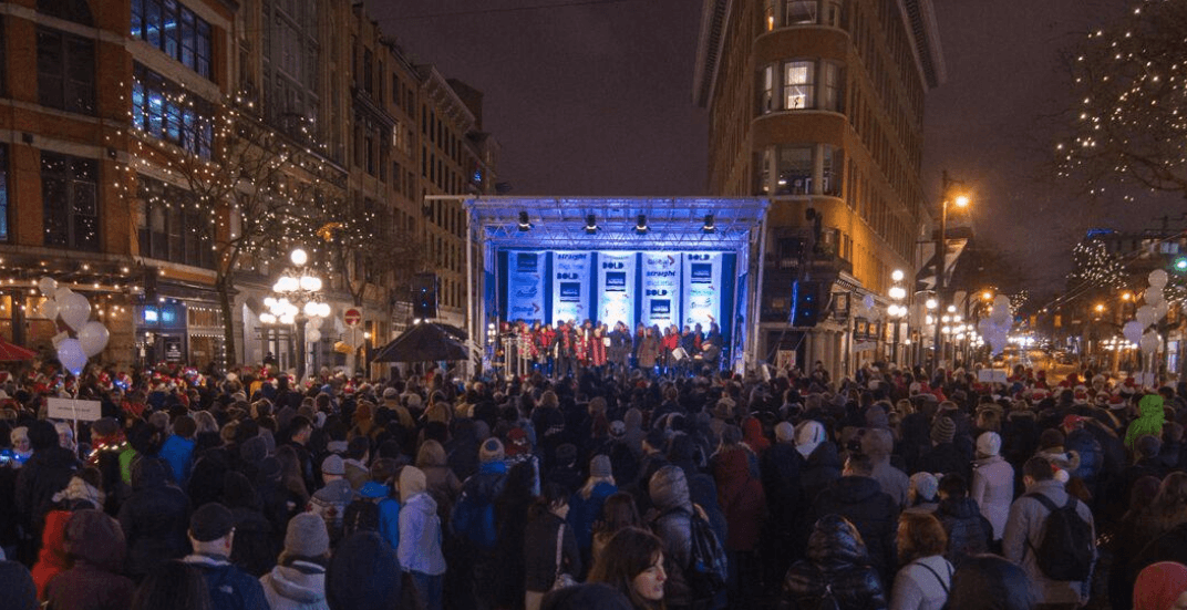 Yule Duel: BC's largest outdoor carolling competition returns to Gastown