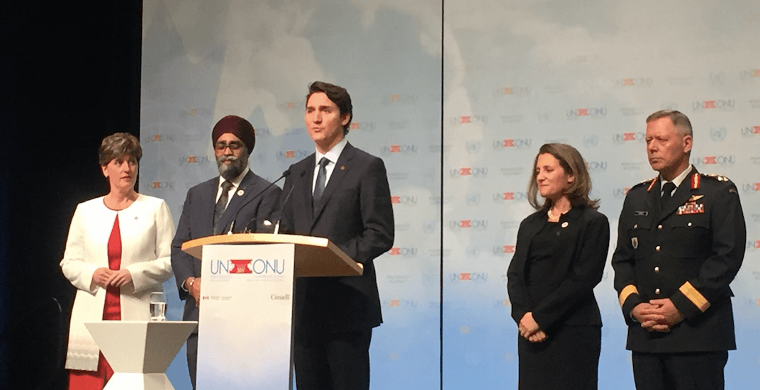 Justin Trudeau expands Canada's peacekeeping role at UN conference in Vancouver
