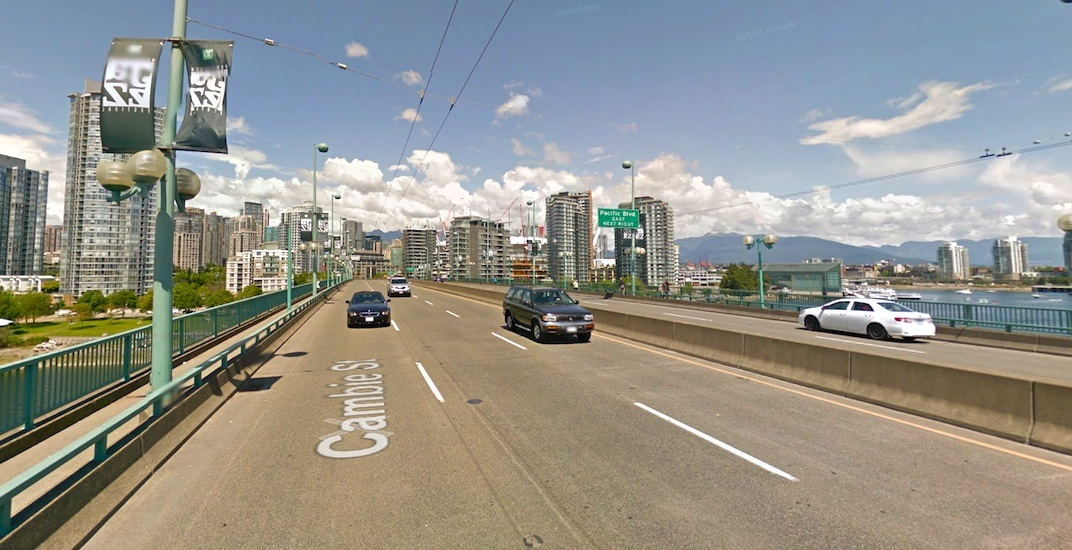 Vancouver to vote on Cambie Street Bridge bike lane this week