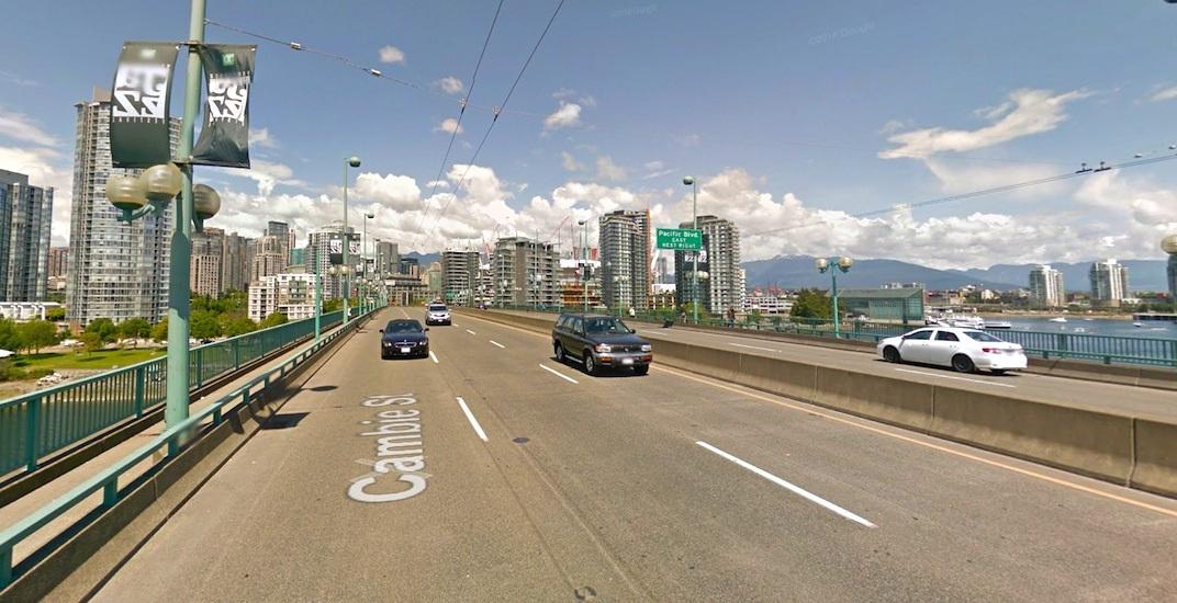 Cambie street bridge