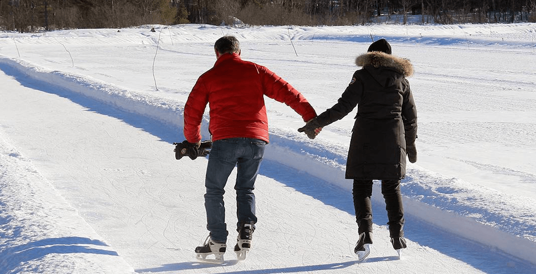 The 1.2 km outdoor skating trail in Ontario you have to visit this year (PHOTOS)