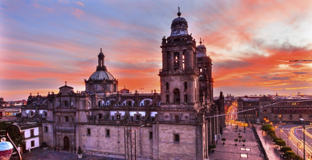 You can fly from Vancouver to Mexico City for $338 return