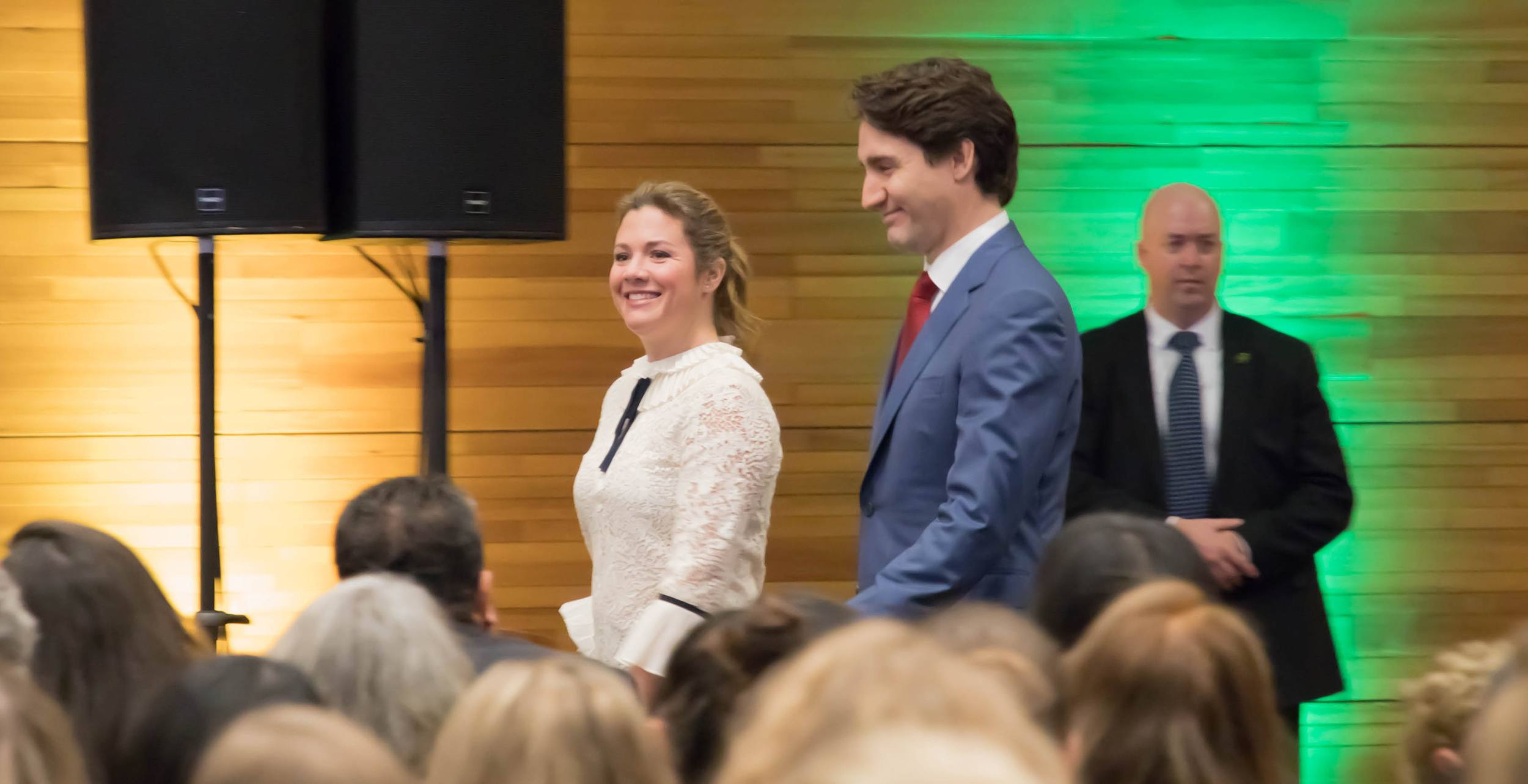 Sophie Grégoire Trudeau and husband welcome world's biggest gender equality conference to Vancouver