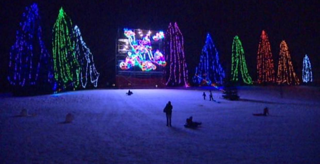 There's a 500,000 bulb light display coming to Calgary this weekend
