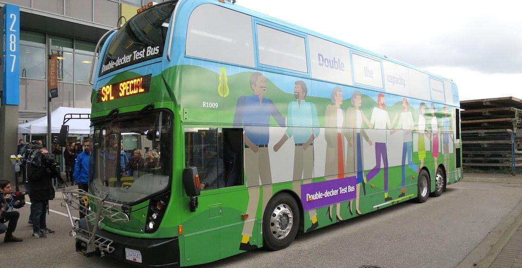 Translink double decker bus 41
