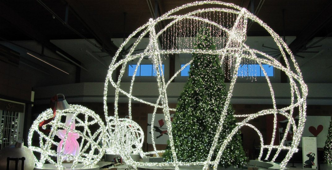 Tsawwassen Mills is giving away a $1,000 shopping spree at their tree lighting event