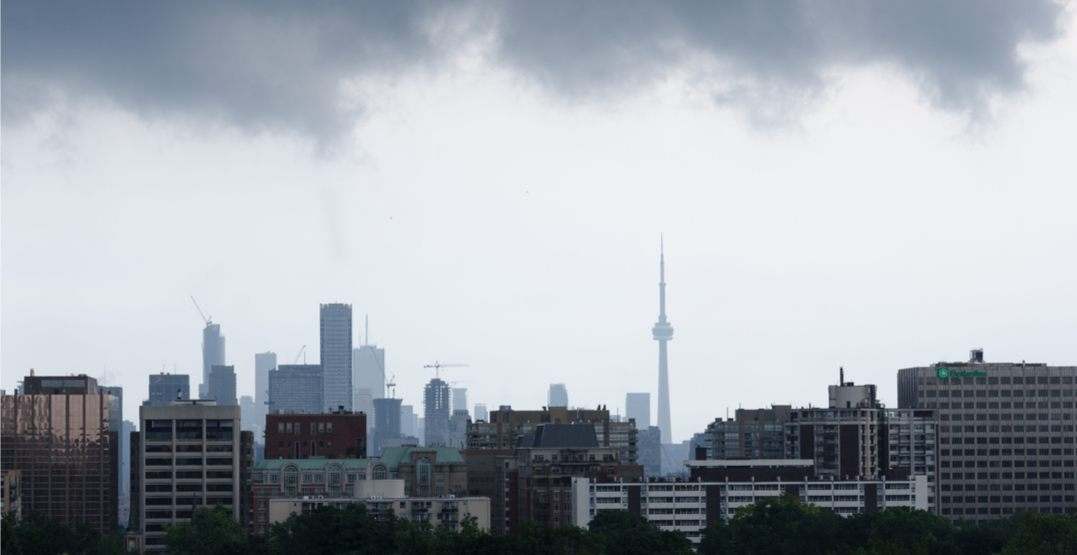 Environment Canada has issued a special weather statement for Toronto