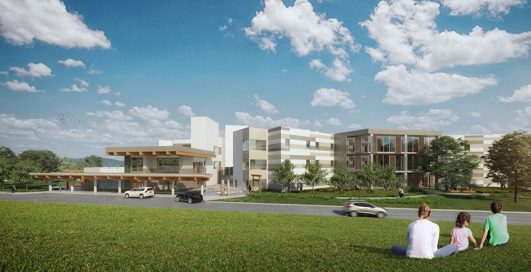 Riverview hospital new rendering 1