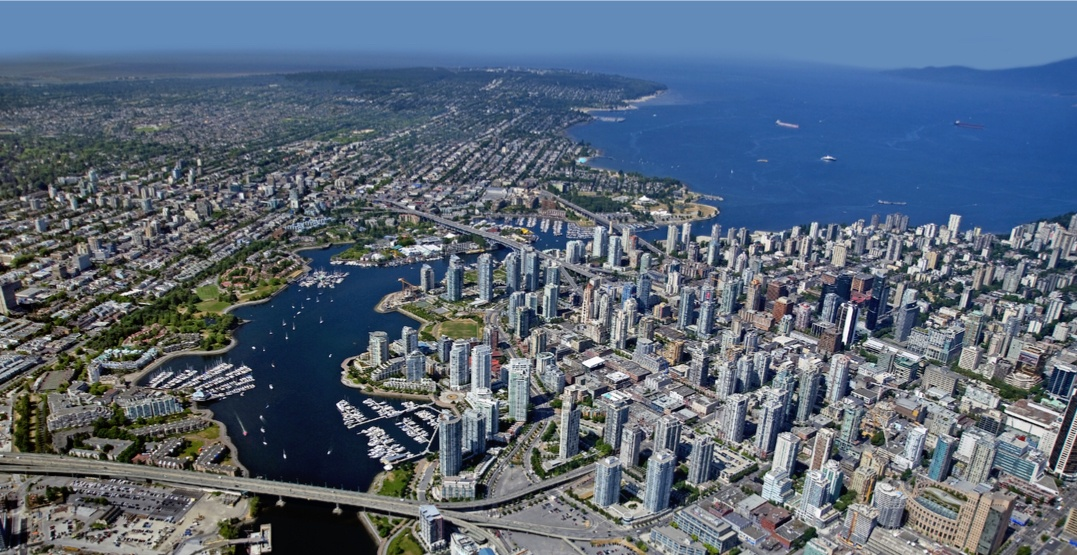 Vancouver south downtown aerial kits