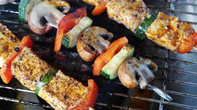 Tchi-tchin to go kebabs vegetarian