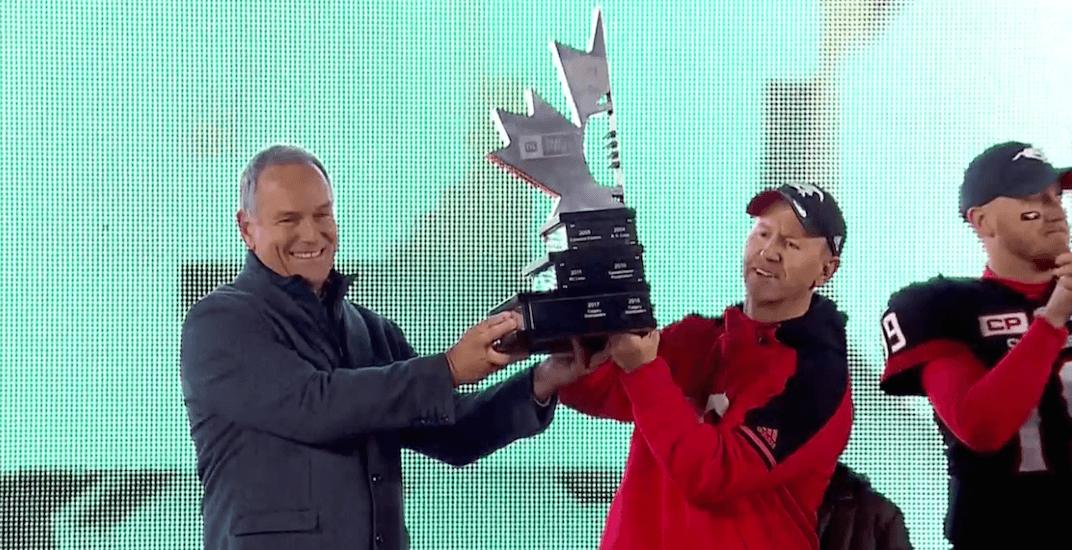 Stampeders beat Eskimos, advance to Grey Cup