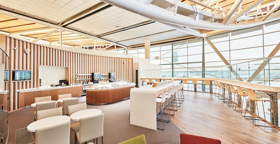 New SkyTeam buffet lounge opens at Vancouver International Airport (PHOTOS)