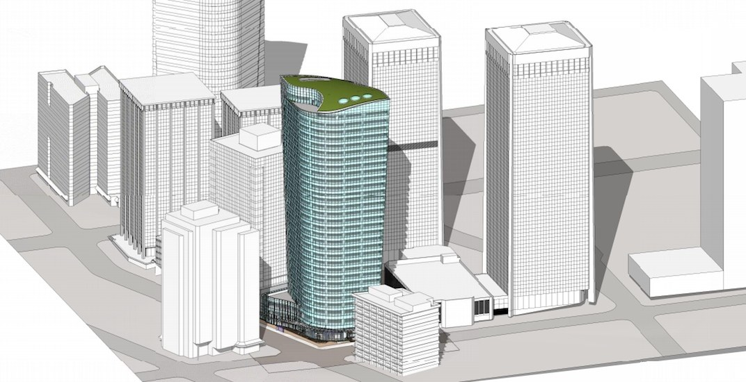 Major office tower proposed for West Pender Street in downtown Vancouver