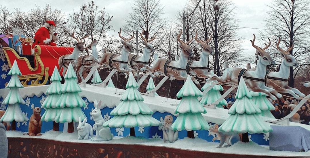 25 festive photos from Sunday's Santa Claus Parade in Toronto