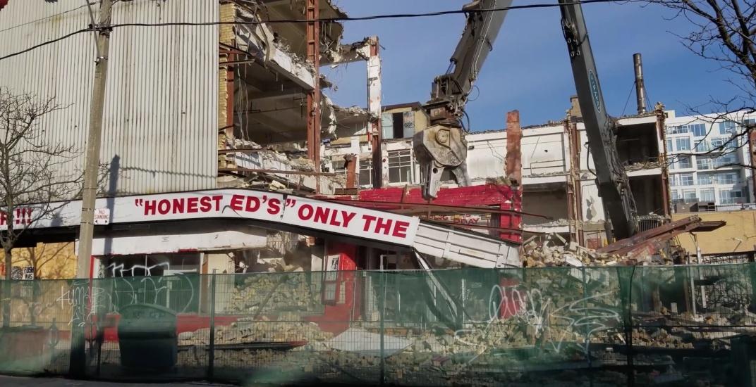 Honest eds demolished