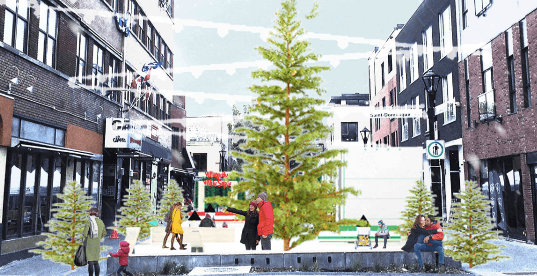 An 'Ugly Christmas Tree Village' is coming to Montreal this holiday season