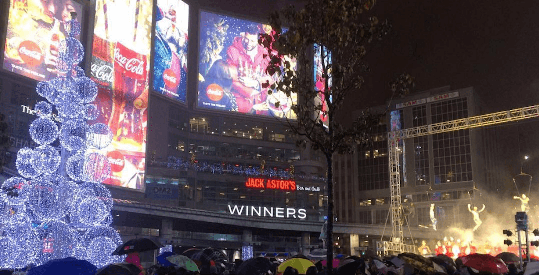 Illuminite lit up Yonge-Dundas Square this weekend (PHOTOS)