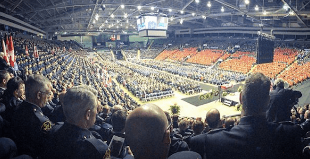 Thousands gather to pay final respects to fallen Abbotsford Police officer (PHOTOS)