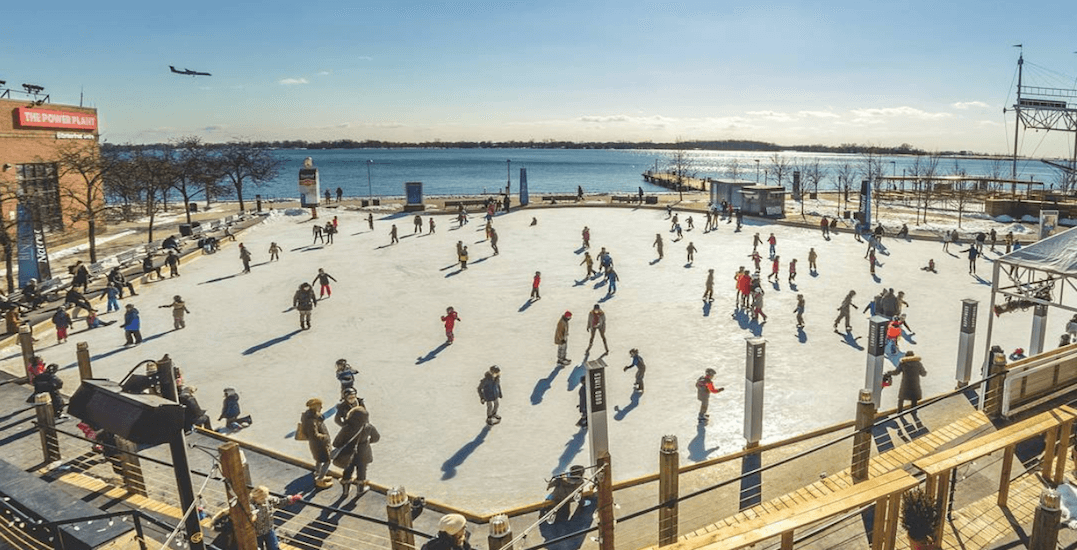 This is every skating rink in TO that will be open this weekend