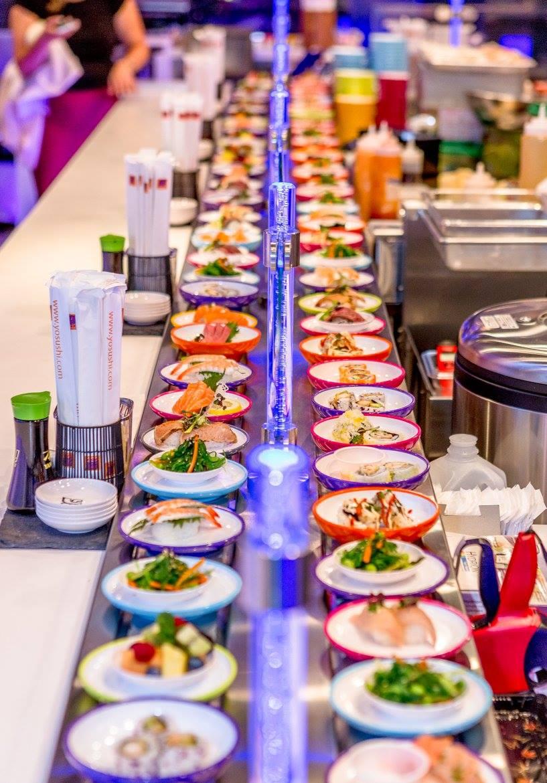 Yo! Sushi conveyorbelt sushi