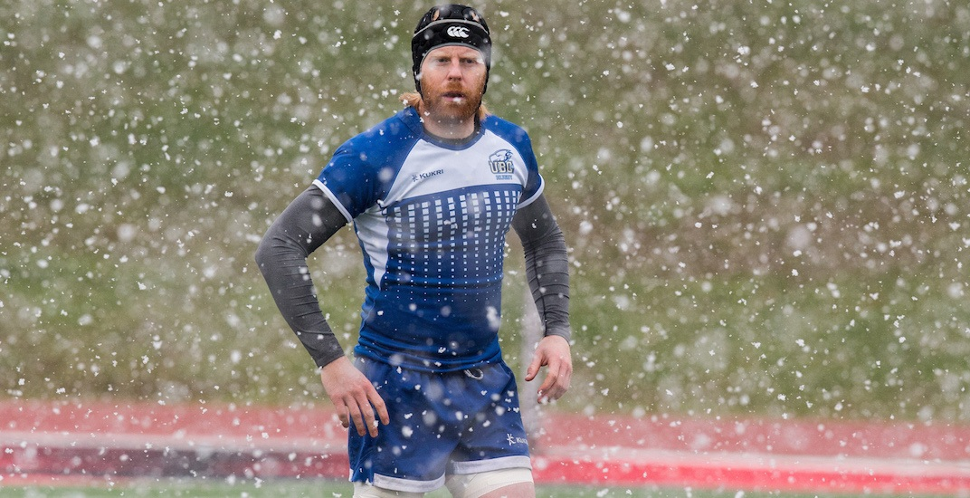 UBC wins first-ever rugby national championship, in the snow (PHOTOS)