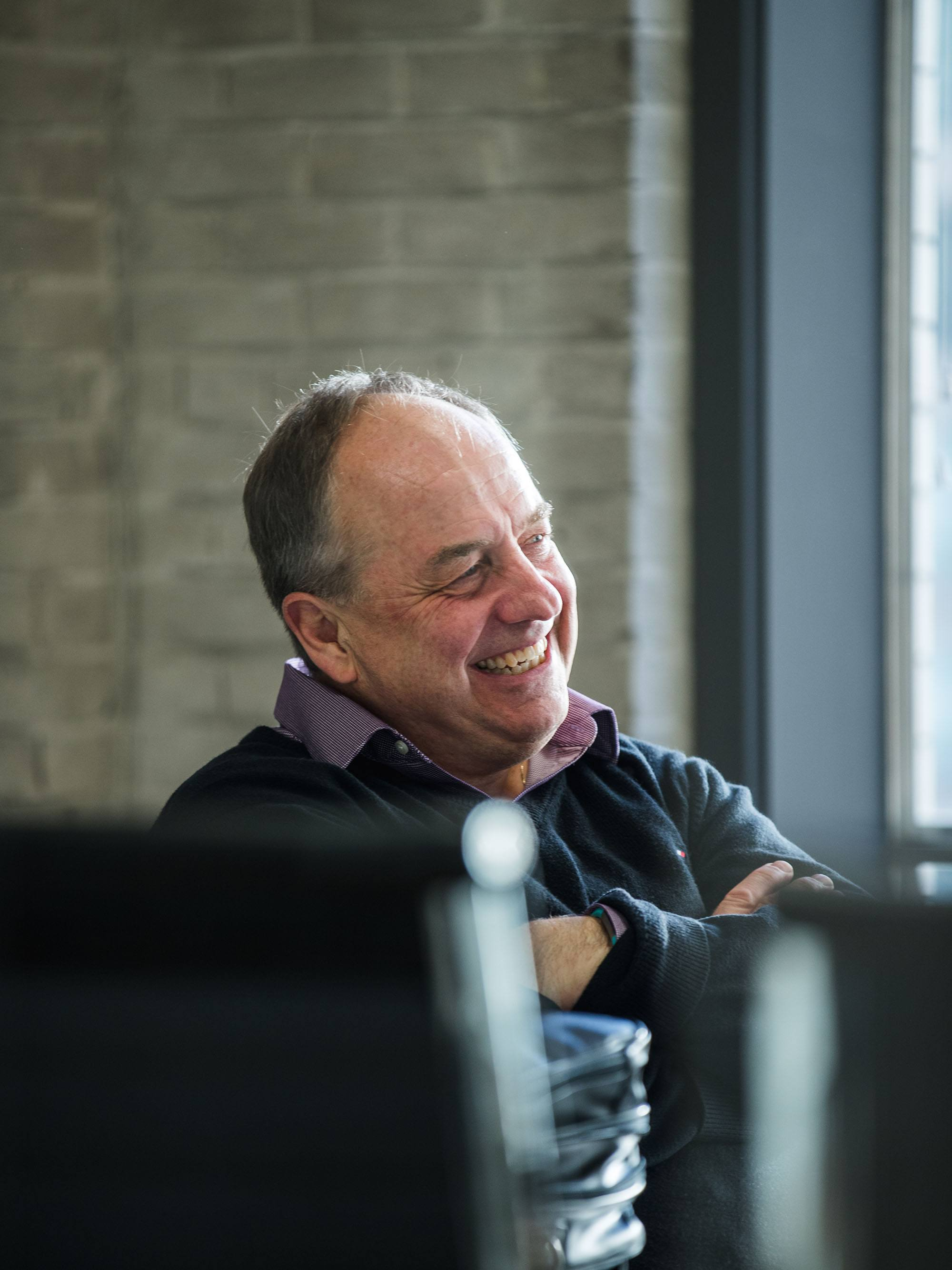 BC Green Party leader Andrew Weaver at Daily Hive (Chris Carr/Colony Digital)