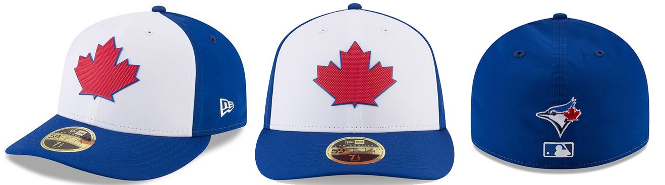 Image  MLB Shop. That large rubberized maple leaf logo ... 58be3a9786ea