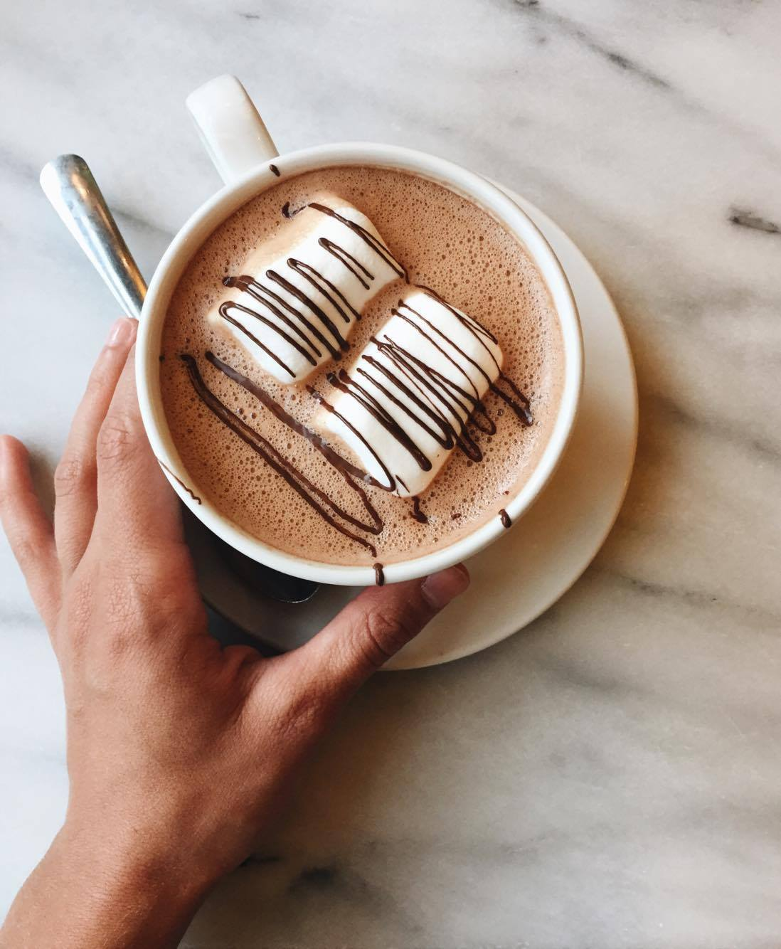 Cacao70 hot chocolate