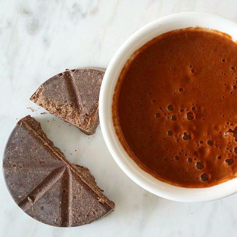 hot chocolate drinking chocolate