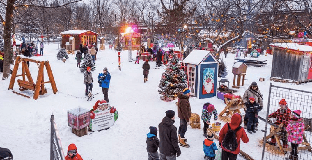 Montreal parks hosting huge Christmas celebrations throughout December
