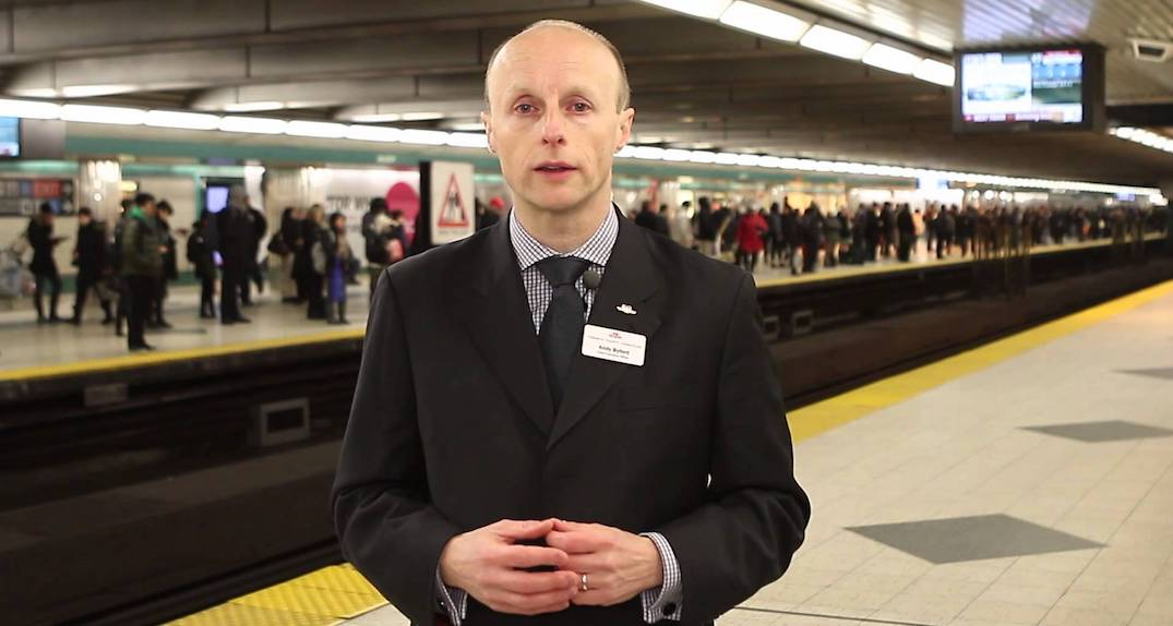 TTC CEO Andy Byford is stepping down