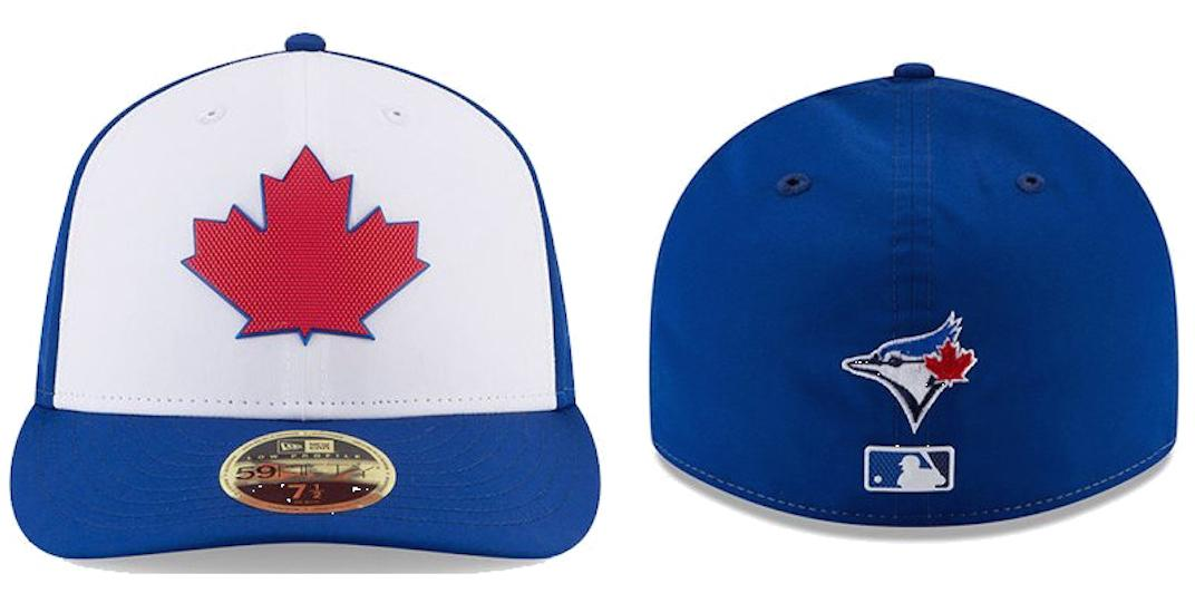 05da8452950 Blue Jays unveil awesome new red maple leaf cap (PHOTOS)