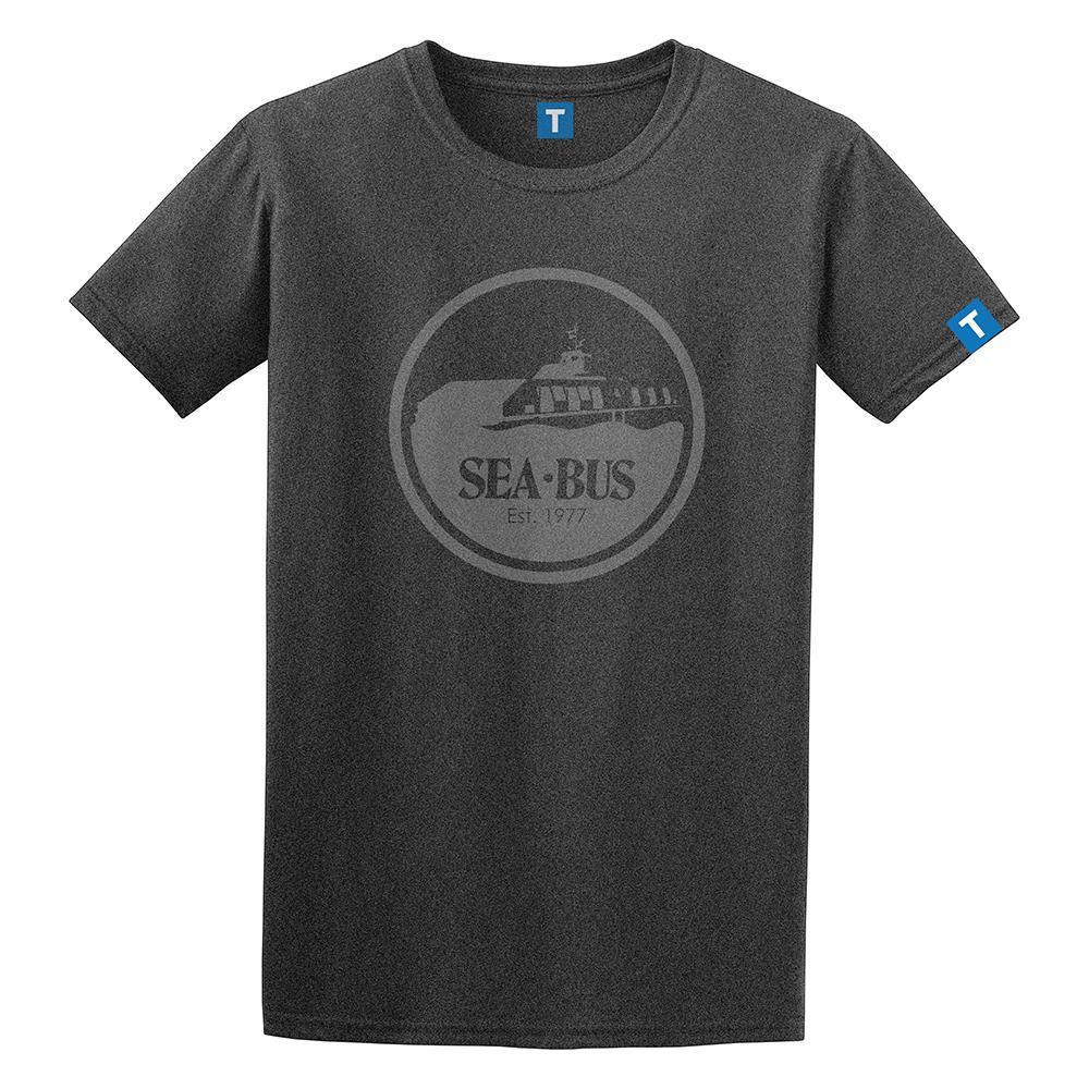 Mens retro SeaBus t-shirt (TransLink)