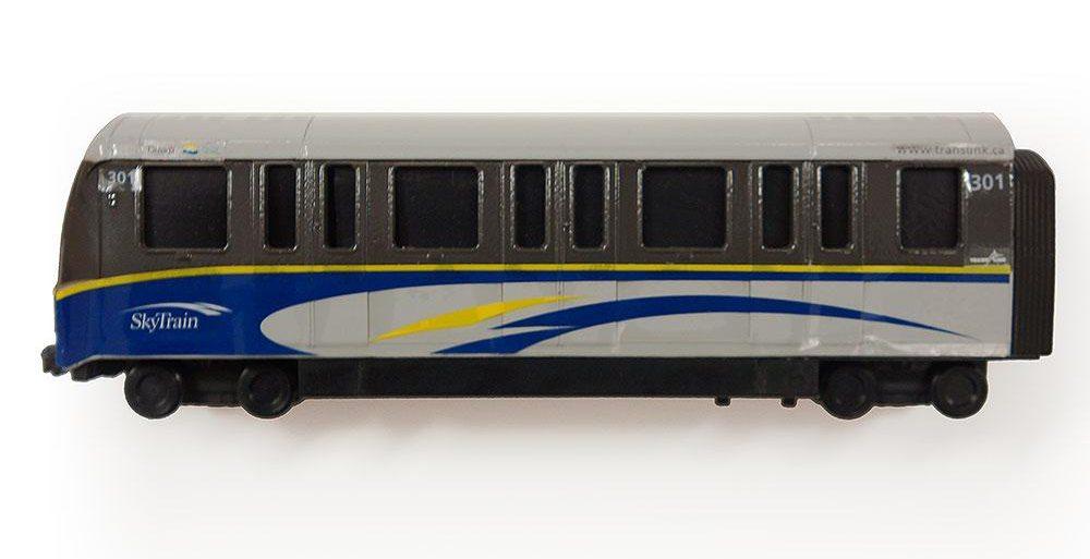 SkyTrain scale model (TransLink)