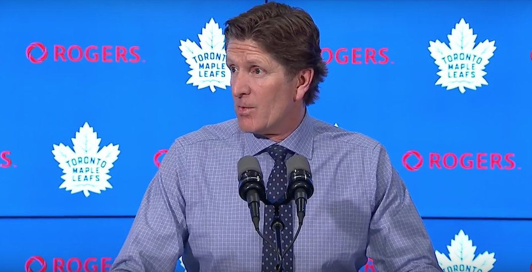 Mike babcock leafs