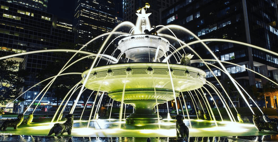 Toronto's Berczy Park will be lit up in holiday lights this December
