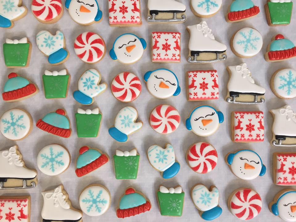 The Teeny Tiny Bakery christmas cookies