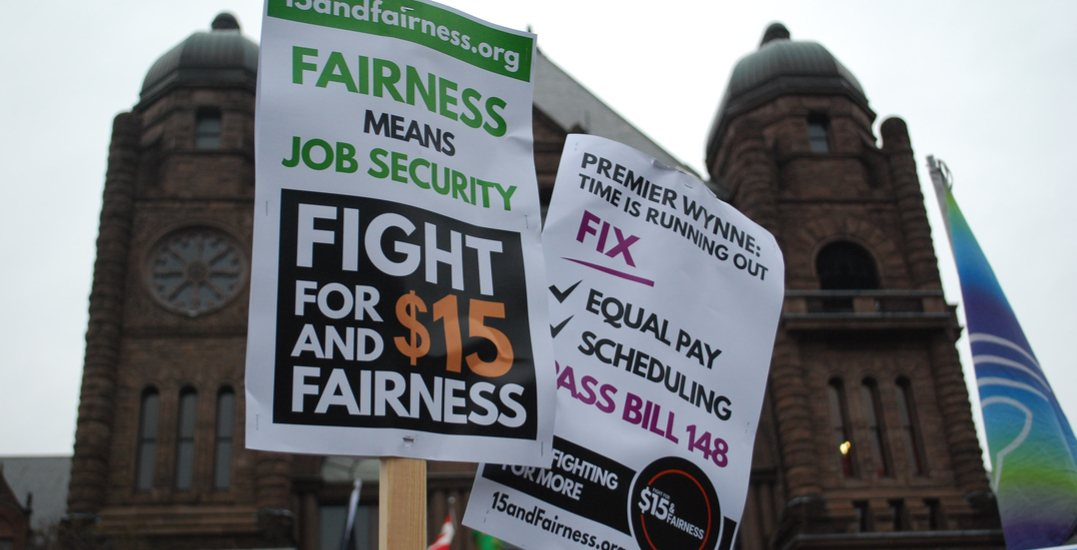 Ontario passes workplace reform laws including $15 minimum wage