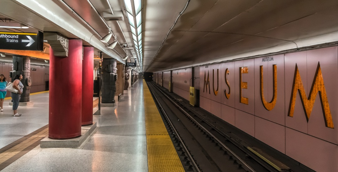 A portion of the TTC is closing this weekend: March 16 and 17