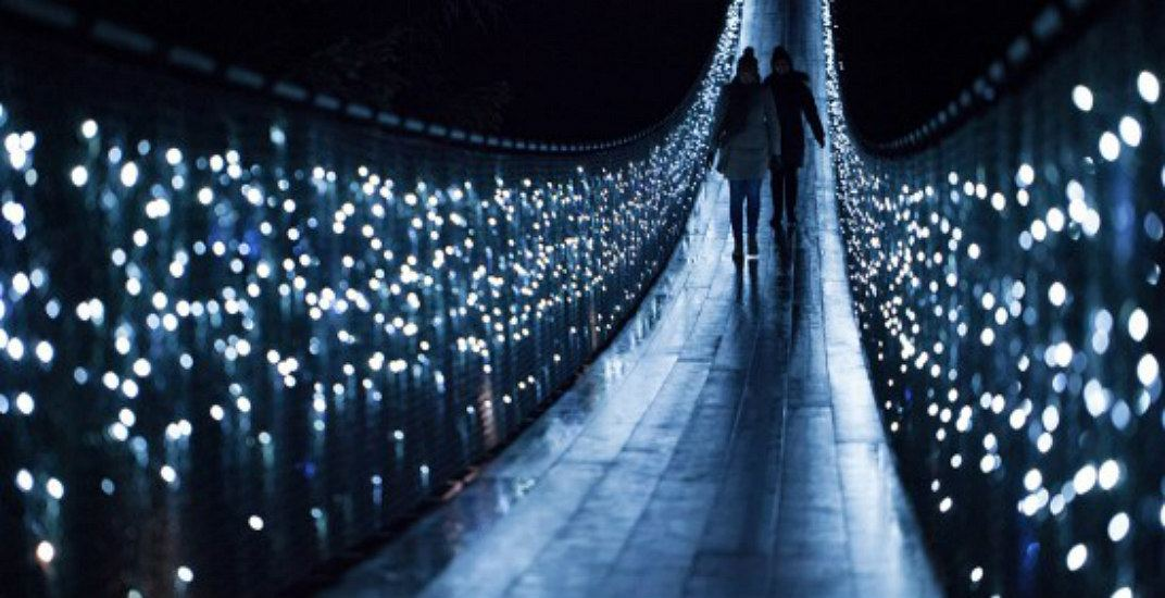 Step into an enchanted forest with Canyon Lights in North Vancouver
