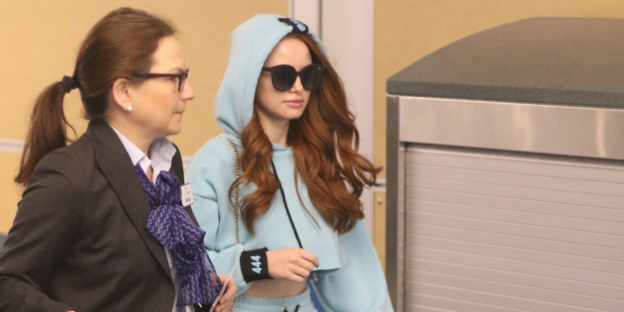 Riverdale's Madelaine Petsch departs Vancouver for Thanksgiving break (PHOTOS)