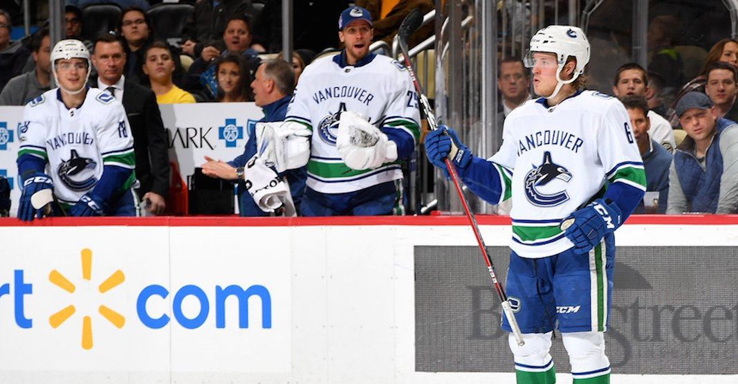 SixPack: Boeser steals the spotlight in another Canucks win