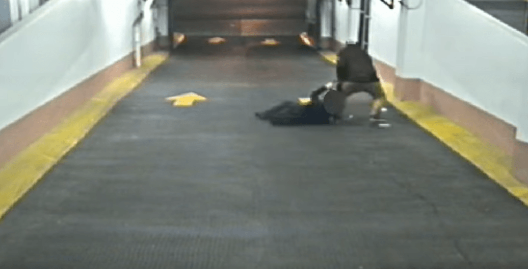 Toronto police release video of parking garage assault, looking for suspect