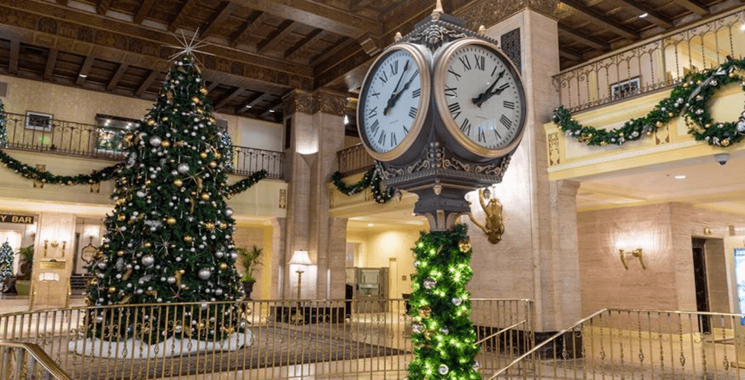 Toronto's Fairmont Royal York is kicking off the holidays this Friday