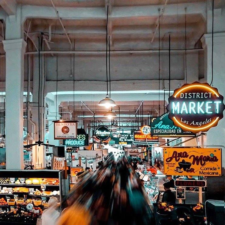 grand central market los angelos
