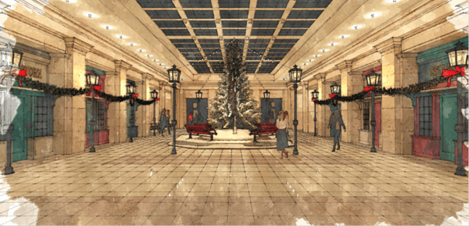 Toronto's Union Station is kicking off the holiday season next month