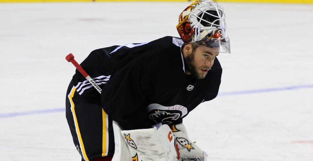 Flames trade Eddie Lack to New Jersey