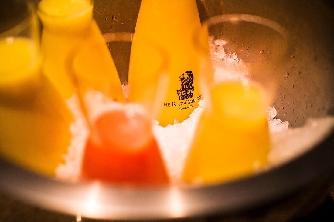 TOCA mimosas brunch orange juice ritz hotel