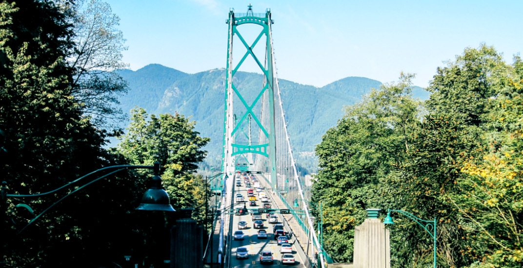 Drivers being warned of big delays on Lions Gate Bridge this weekend