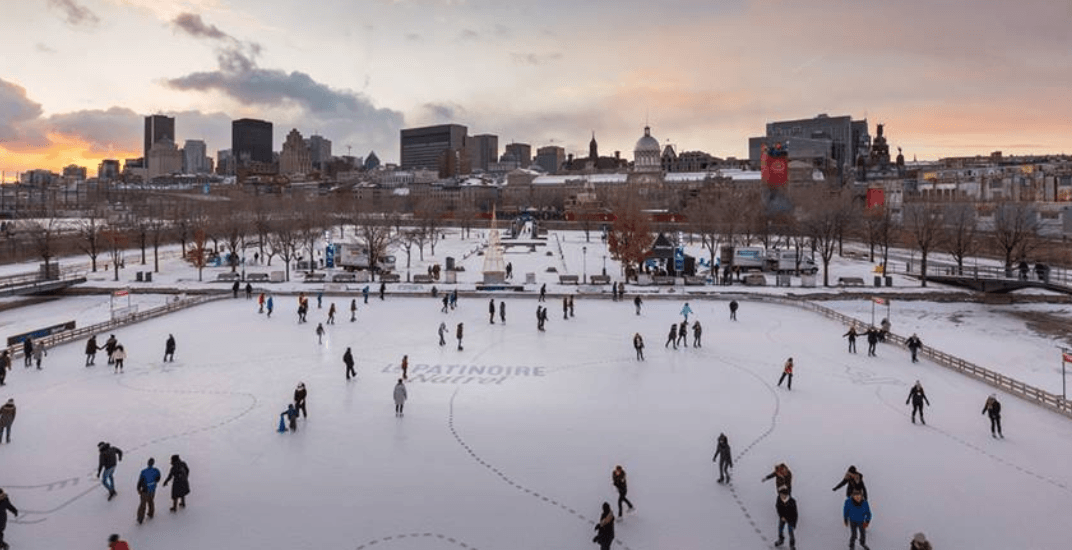 Montreal's Old Port skating rink officially opens to the public on December 8